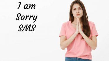 I am Sorry SMS